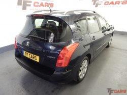 """Peugeot 308 SW 1.6HDi S """"SAT NAV"""" £30 ROAD TAX!"""