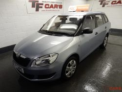 Skoda Fabia 1.6TDI CR DPF S – £20 ROAD TAX!