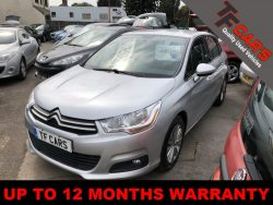 CITROEN C4 HDI 5 DOOR BLUETOOTH – NEW CAM BELT JUST FITTED!